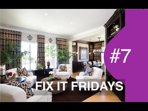 Interior Design | Beautiful Living Room | Fix It Friday 7