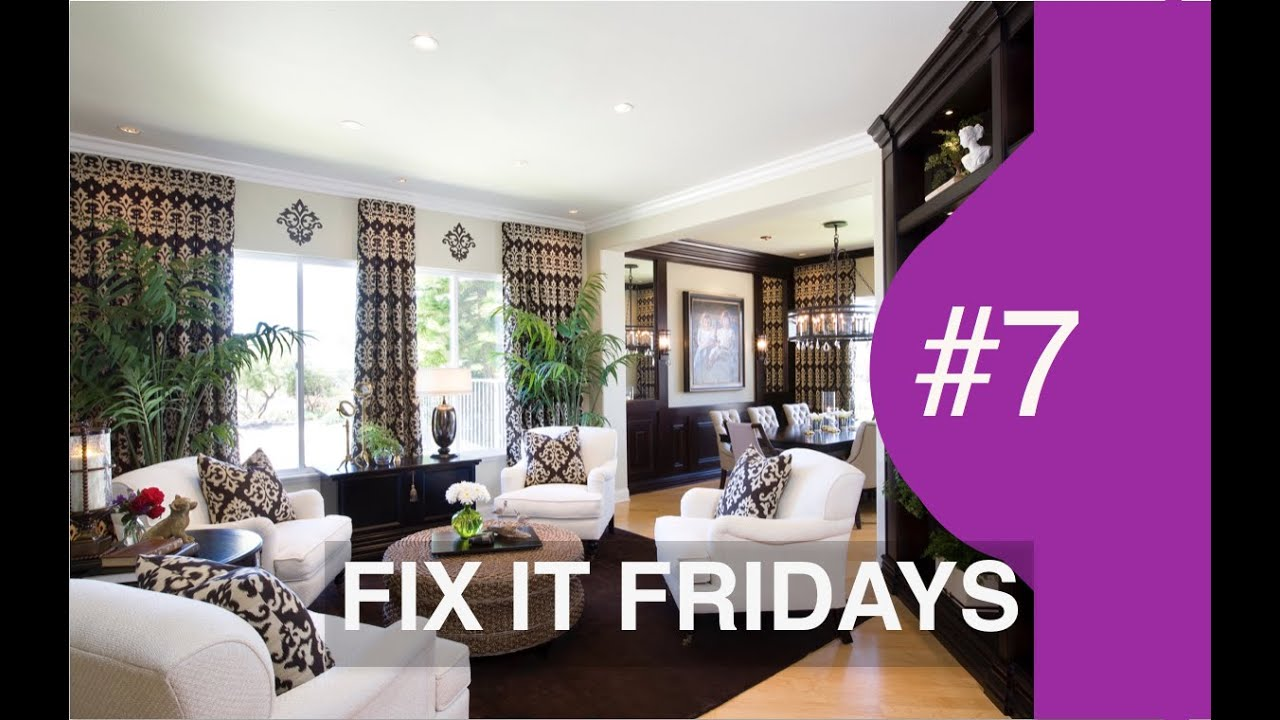 Interior Design | Beautiful Living Room | Fix It Friday 7   YouTube