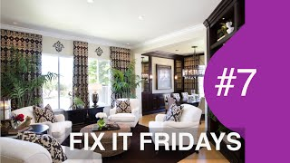 Beautiful Living Room | Interior Design | Fix It Fridays #7