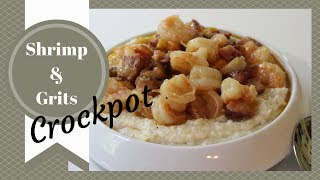 Shrimp & Grits (crockpot) Recipe: Cooked By Julie Collaboration