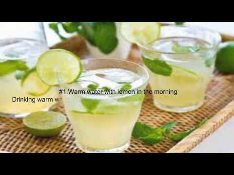 Two ways to lose weight with lemon and ginger