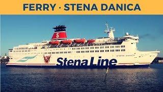 Departure of ferry STENA DANICA in Göteborg (Stena Line)