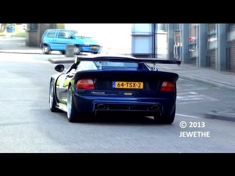 RARE Noble M12 GTO-3 Start-up, Rev and Accelerations!! (1080p Full HD)