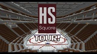 Minecraft Hockey Rink Tour: HS Square
