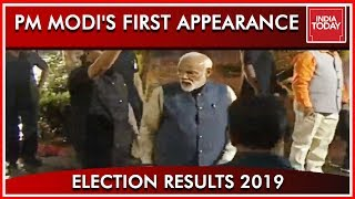 PM Modi Arrives At The BJP Headquarters First Appearance Since Results | Amit Shah Receives The PM