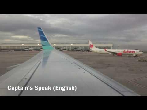 Garuda Indonesia Flight Experience: Boeing 737-8U3 GA 160.Jakarta-Padang