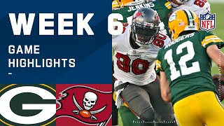 Packers vs. Buccaneers Week 6 Highlights | NFL 2020