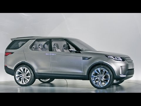Land Rover Discovery Vision Concept New York Auto Show 2014 Youtube