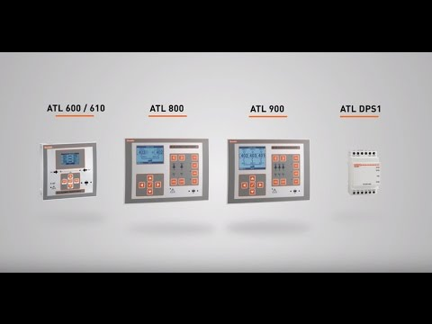 LOVATO Electric - Automatic transfer switch controllers ATL series on
