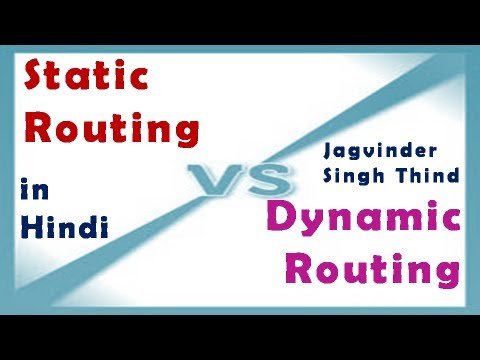 Static Vs Dynamic Routing - Routing Part 5