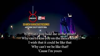 Secret Love Song Karaoke Acoustic Guitar With Lyrics