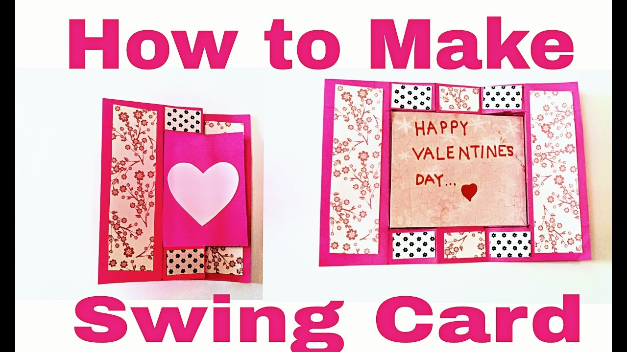 d26416eb0f74 How to Make Swing Card - DIY