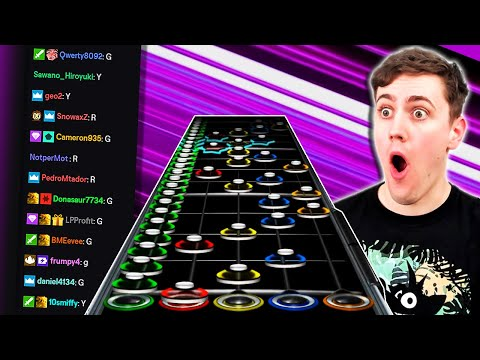 Can TWITCH CHAT Play GUITAR HERO???