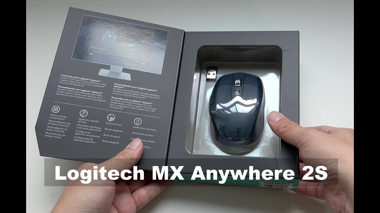 Logitech MX Anywhere 2S Wireless Mouse Unboxing