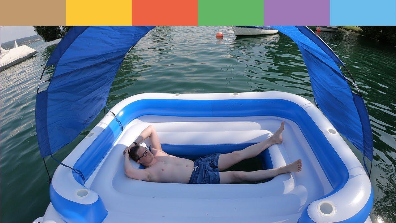tropical breeze review die xxl luftmatratze im test youtube. Black Bedroom Furniture Sets. Home Design Ideas