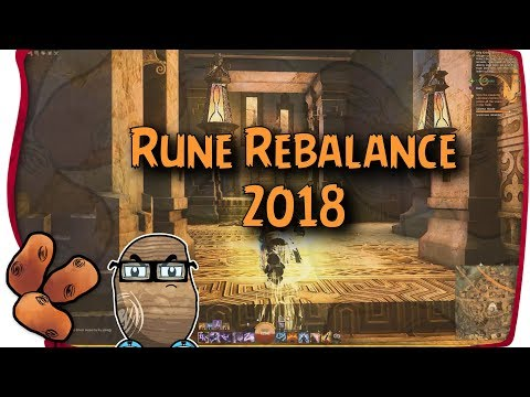 Guild Wars 2 - 2018 Rune Rebalance First Impressions