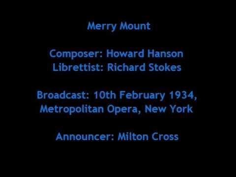 Merry Mount - Metropolitan Opera 1934 (Tibbett, Ljungberg, Swarthout - Serafin)