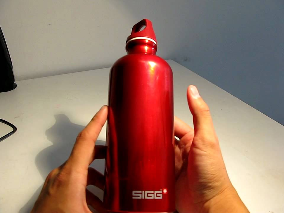 Sigg water bottle review youtube for Floor 9 water bottle