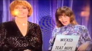 HELEN REDDY, CAROL BURNETT - SINGING A FUNNY NONSENSE SONG