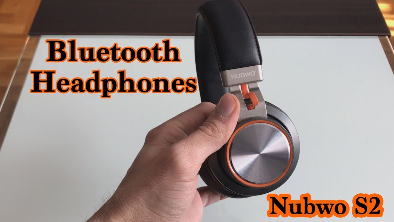 456cef79f89 Bluetooth Headphones Nubwo S2 - YouTube