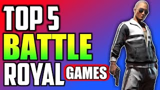 🔥TOP 5 BATTLE ROYAL PC GAMES LIKE PUBG 😘😘😍😍!!!!!! Must Watch Guys !!!!!!