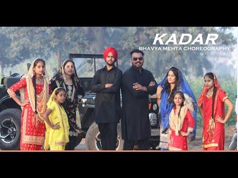 Kadar | Mankrit Aulakh | Bhangra | Choreography | BANDITS FAMILY
