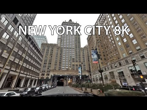New York City 8K – VR 360 Drive – Midtown Manhattan