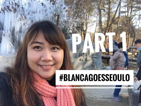 #BLANCAGOESSEOULO - My First Solo Travel in South Korea Part 1 (Day 1. Nami Island & Ski)