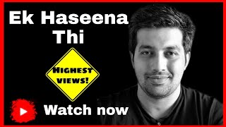 Ek Haseena thi Guitar Cover by Sagar Paranjape | Instrumental | Rock Version