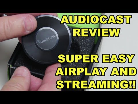 AudioCast M5 Review - Streaming Music From Your Phone To