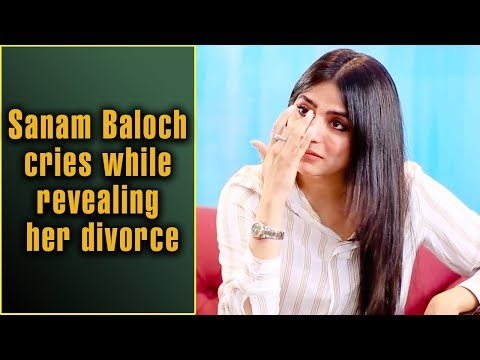 Sanam Baloch Cries While Revealing Her Divorce | Speak Your Heart With Samina Peerzada