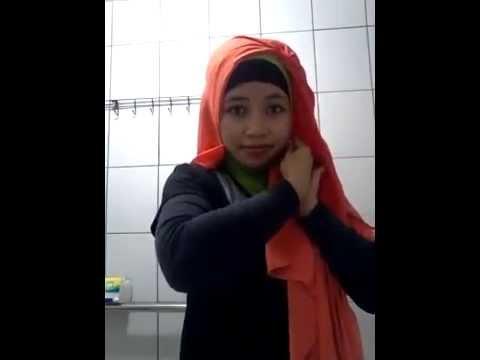 Adinda Anna tutorial Hijab Ke 7