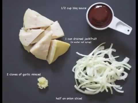 Easy BBQ Jackfruit (Vegan Pulled Pork!)YouTube