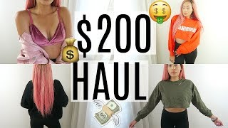 $200 Affordable Fall Clothing Haul