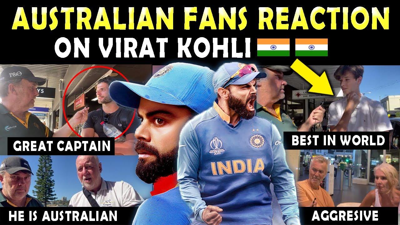Download Australian Fans REACTION on VIRAT KOHLI 🇮🇳 ❤️ | Must Watch this Video | Respect