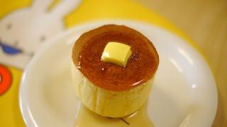 厚焼き ホットケーキ Thick Pancake ぶあつい パンケーキ