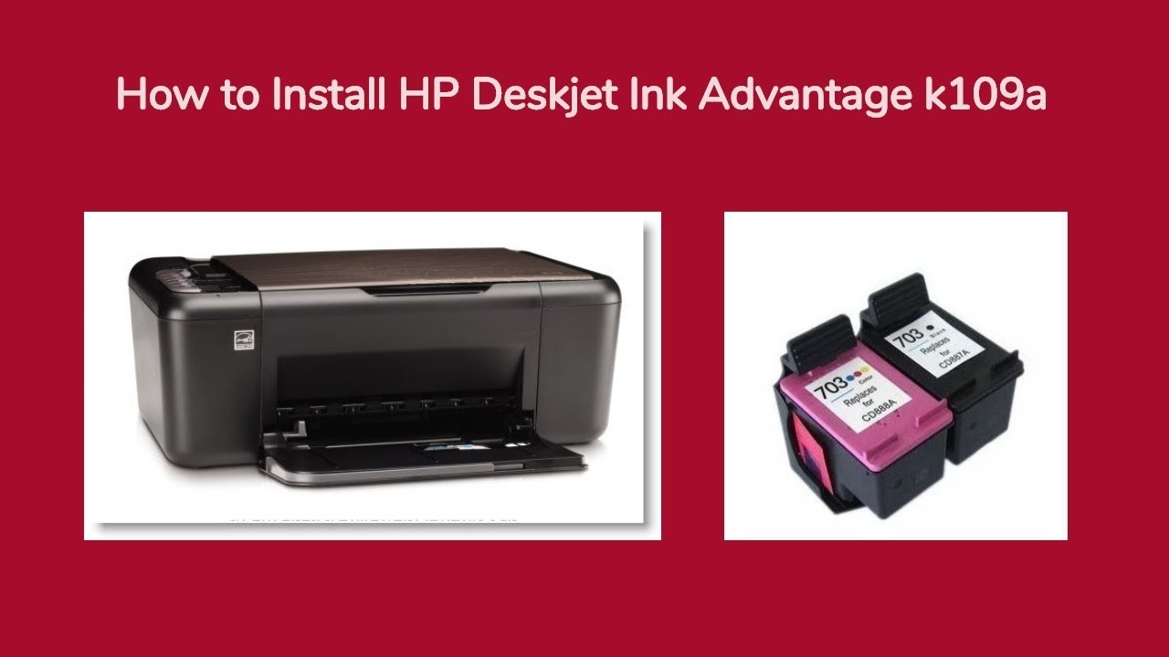 HP K109A PRINTER DESCARGAR CONTROLADOR