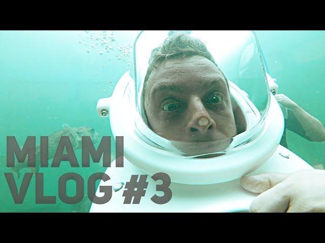 A VÍZ ALATT!  | Miami VLOG #3