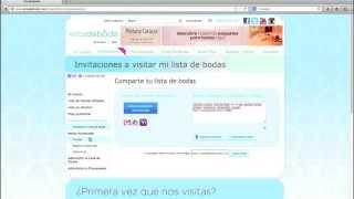 Lista de Boda en www.estadeboda.com