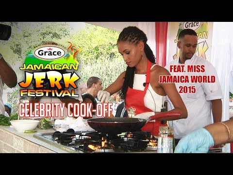 Jerkfest NYC 2016 Celebrity Cook Off
