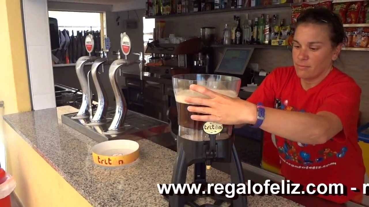 Dispensador de cerveza tres grifos youtube for Grifos de segunda mano