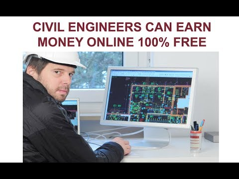 civil engineers can earn money by doing work online