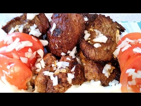 Bakina kuhinja - kako spremiti džigericu (how to fry liver)