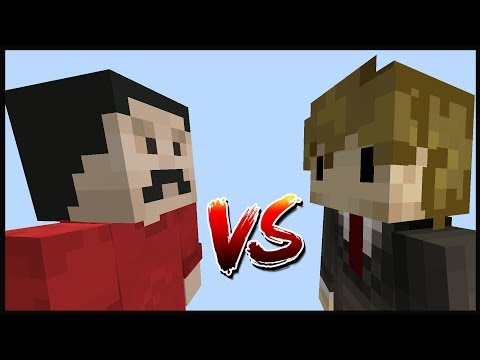 Minecraft Build Swap - GRIAN VS MUMBO