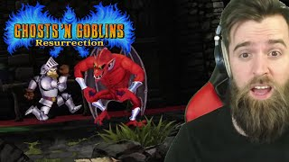 They Just Remade One of the HARDEST Games Of All Time [GHOSTS 'N GOBLINS RESURRECTION]