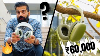 Apple AirPods Max - The Real Truth About ₹60,000 Headphones🔥🔥🔥