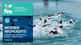 Women's Race Highlights Open Water | FINA/CNSG Marathon Swim World Series