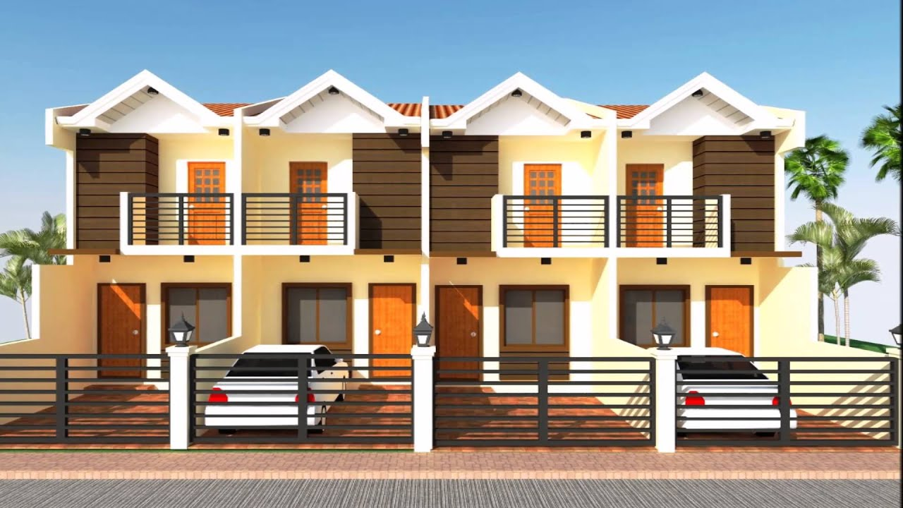 Small house designs compilation youtube for Small apartment building designs