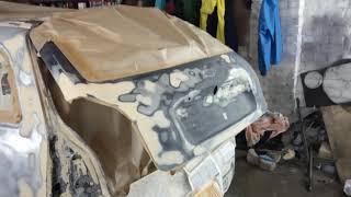 Кузовний ремонт #калина# Дивовижна машина............... 4 колеса................. є навіть гальма