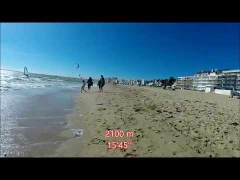 Virtual Run  5M 8 kph La Baule France